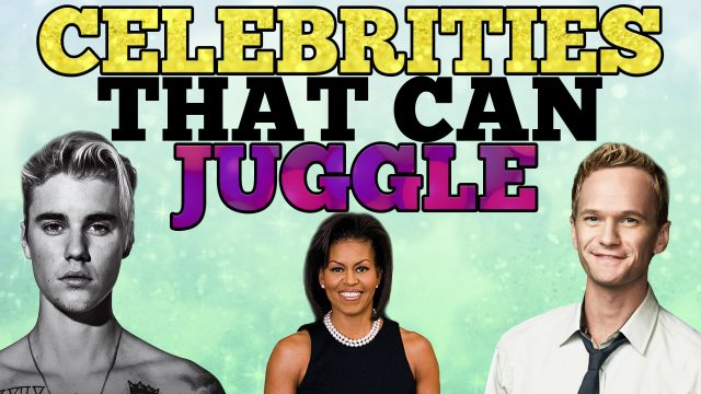 Celebrities who Juggle on Balls in the Air
