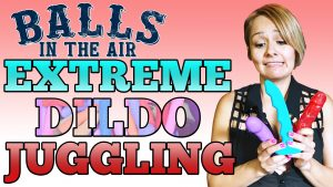 Juggling Dildos on Balls in the Air Photo
