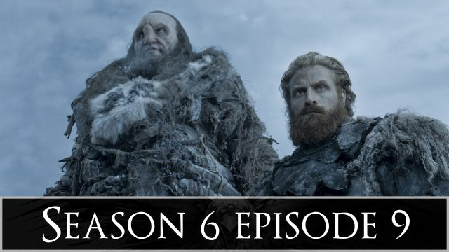 "Game of Thrones After Show Season 6 Episode 9 ""Battle of the Bastards"""