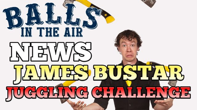 James Bustar's Global Juggling Challenge on Balls in the Air
