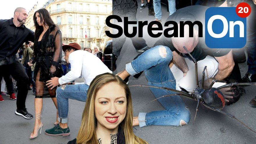Kim Kardashian ASS KISSER, A Dick-Biting SPIDER AND MORE on Stream On!