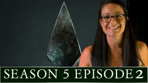 Arrow Season S05E02 with Olivia de Bortoli! Photo