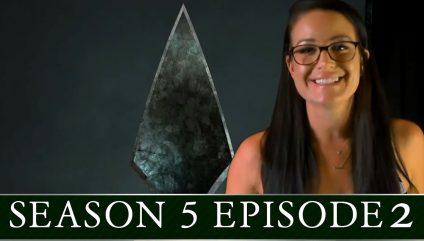 Arrow Season S05E02 with Olivia de Bortoli!