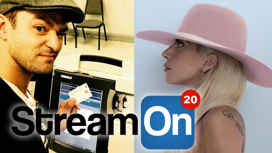 LADY GAGA Glues Her Pussy, JUSTIN TIMBERLAKE Breaks The Law,  AND MORE on Stream On!