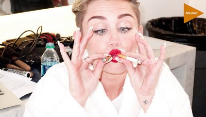 MILEY CYRUS got TOO STONED on theFeed!