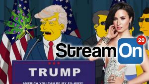 The Simpsons Predict The Election, Demi Lovato Makes a Trump Joke AND MORE on Stream On! Photo