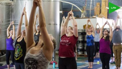 HARRY POTTER And YOGA on theFeed!