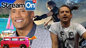 The Rock is the Sexiest Man Alive, Elijah Wood is a Clueless Gamer AND MORE on Stream On! Photo