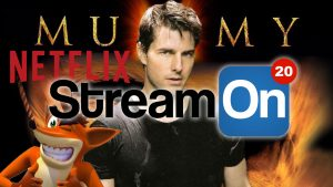 TOM CRUISE and the Mummy Remake, NETFLIX , CRASH Bandicoot and MORE on Stream On! Photo