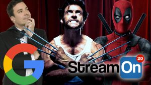 GOOGLE Updates, Jimmy Fallon is BAE, A Deadpool/Wolverine Mash-Up AND MORE on Stream On! Photo
