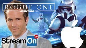 Star Wars REVIEWS, APPLE News, Ryan Reynolds Looking HOT and MORE on Stream On! Photo