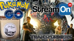 Pokemon, Optimus Prime, KFC Candles, and MORE on Stream On! Photo